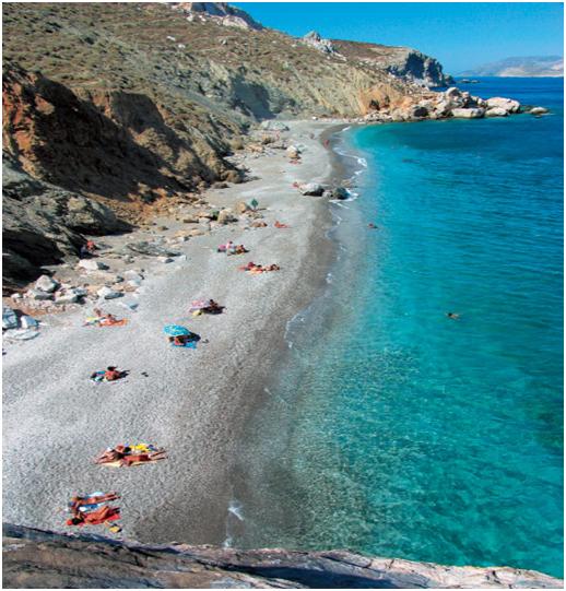 Cruise to Folegandros